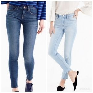 """J. Crew 8"""" Toothpick Ankle Jeans"""